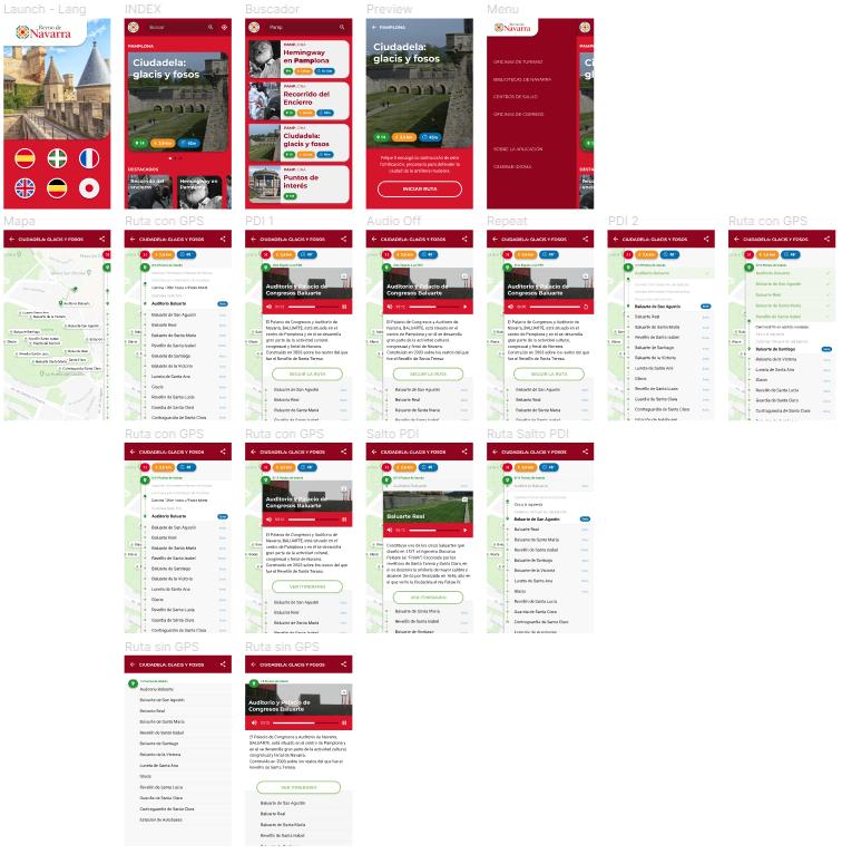 Diseño de app turística