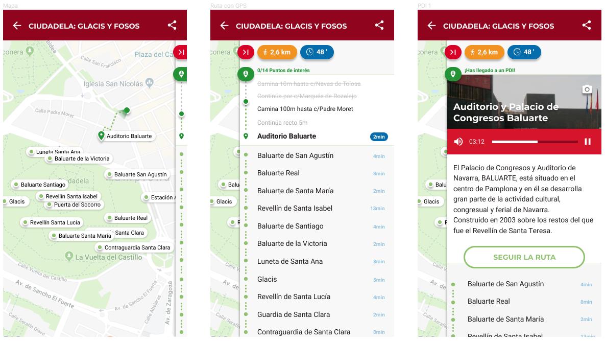 App recorrido GPS